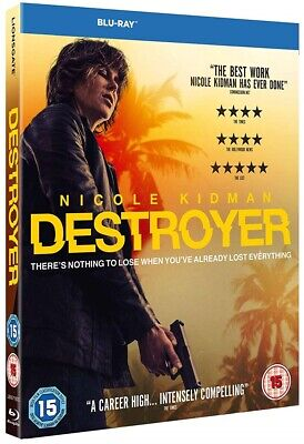 DESTROYER (2019) Action, Crime, Nicole Kidman, Tatiana Maslany NEW RgB BLU-RAY