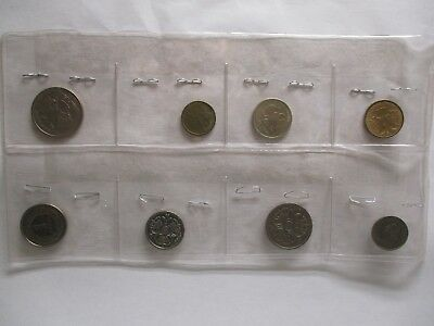 Lot of Eight (8) World Coins #2