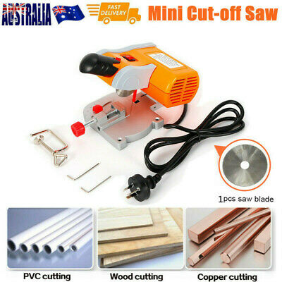"Mini 2"" Bench Mounted Cut-off Saw Machine Tool for Precision Cut Metal Wood PVC"