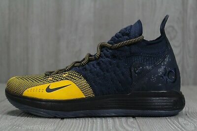 92eb8a19379e 41 Nike KD Kevin Durant XI 11 GS Chinese Zodiac Navy Shoes Youth 7Y AH3465-