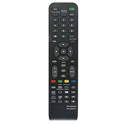 New RM-GD030 RM-GD031 Replacement Remote Control for Sony Bravia 4K LED TV