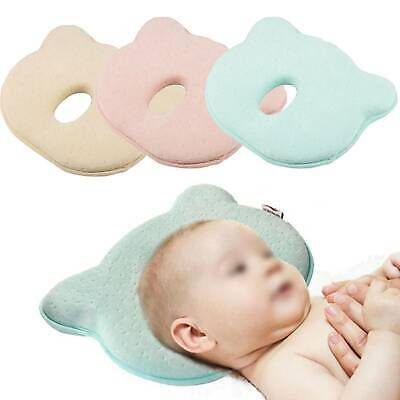 Newborn Baby Cot Pillow Prevent Flat Head Memory Foam Cushion Sleeping Support