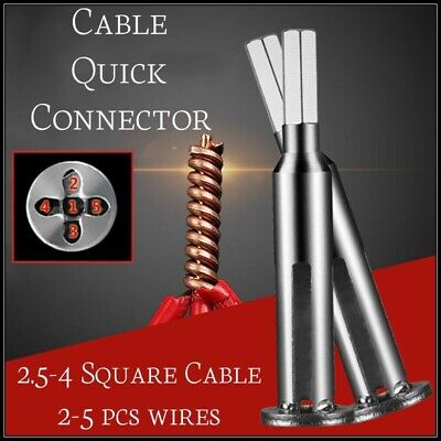 4 And 5 Square Cable Wire Stripping And Twisting Tool-FREE SHIPPING