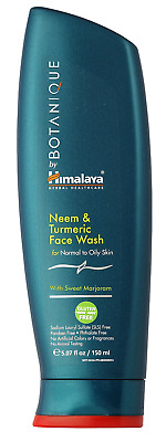 Himalaya Botanique Neem & Turmeric Natural Face Wash & Cleanser for Oily and ml