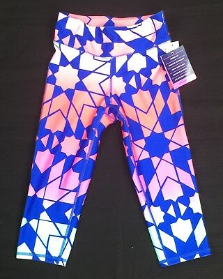NWT Gapfit Multi-Color Sports Legging for Girls Size Small