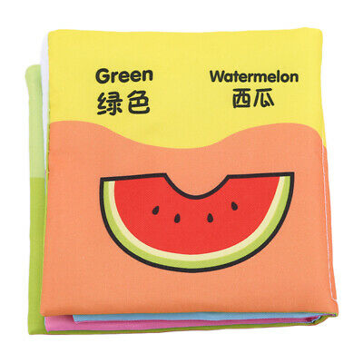 Kids Intelligence development Cloth Bed Cognize Book Educational Toy for Baby TL