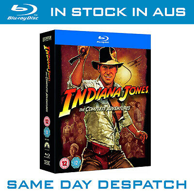 Indiana Jones : The Complete Adventures Blu-Ray Collection NEW SEALED