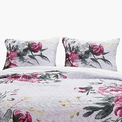 Greenland Home Fashion Rose Touch Floral Print Pillow Sham, Multicolor