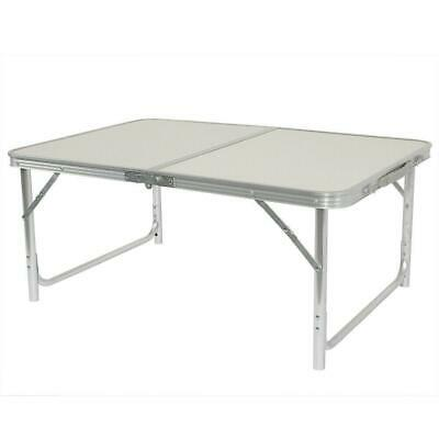 3FT Portable Aluminum Alloy Folding Table Picnic Camping Indoor&Outdoor Desk US