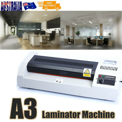 A3 Thermal Laminator Machine Cold Hot Mounted Thermal Roller Pouch Menu 220V