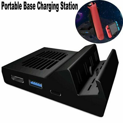 Portable Replacement Dock Base Travel Charging Station for Nintendo Switch New