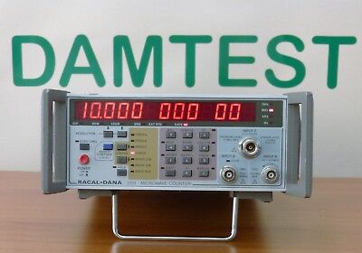Racal Dana 2101 Frequency Counter Microwave 20 GHZ Opt.04a Microwave Counter