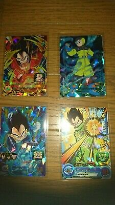 LAWSON Limited Dragon Ball Clear File 5 Sets Son Goku Vegeta Trunk Piccolo Japan
