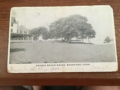 CT Branford Double Beach HOUSE 1908 CONN  HAS DAMAGE