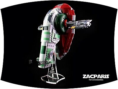 DISPLAY STAND for Star Wars Lego 75243 Slave l , Slave 1 , 20th Anniversary