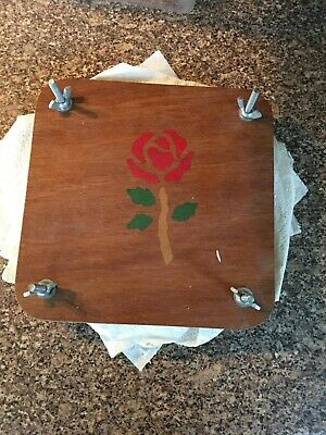 Vintage flower press 21cm x 21 cm Arts & Crafts Larger size dried floral