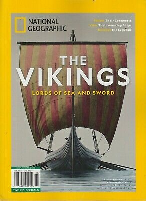 National Geographic The VIKINGS Lords of Sea & Sword 2019