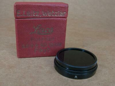 Leitz Leica PUSH ON FIKYB / 13045 A36 R Medium Red Filter - Infra-red - Boxed