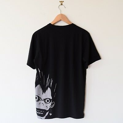 c199a18c Uniqlo Weekly Shonen Jump 50th Graphic T-Shirt Death Note Black Men's  Medium NEW