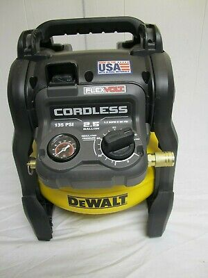 DeWALT DCC2560 2.5 Gal. 60-Volt MAX Brushless Cordless Air Compressor Tool only