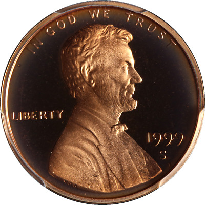 1999-S Lincoln Cent Proof Close AM PCGS PR67RD DCAM Superb Eye Appeal