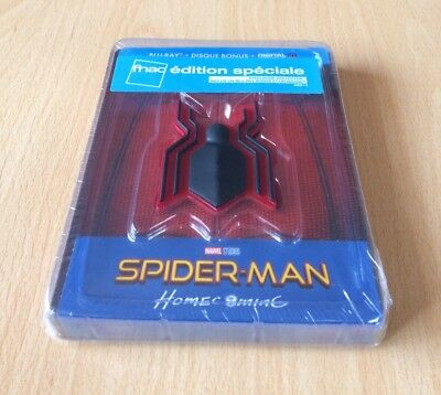 "BRD ""Spider-Man : Homecoming"" steelbook édition spéciale Fnac"