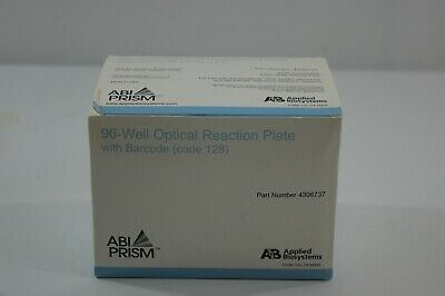Applied Biosystems Microamp 96 Well Reaction Plate w/barcode 4306737 20 plates