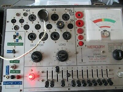 "CALIBRATION SERVICE FOR MERCURY 2000 TUBE TESTER "" Read description carefully"""