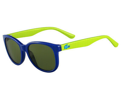 Lacoste Kids Square UV Protection Sunglasses Boys/Girls Eyewear Glasses Blue/GRN
