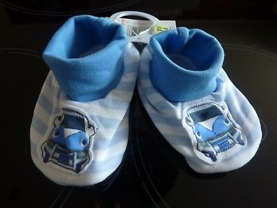 Cute CAMPERVAN Booties Size 12-18 Months NWT