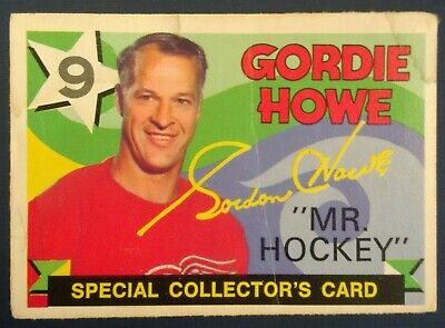 1971-72 OPC O-Pee-Chee Hockey #262 Gordie Howe Detroit Red Wings