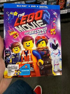 The LEGO Movie 2: The Second Part (Blu-ray, 2019, DVD, NO Digital HD)