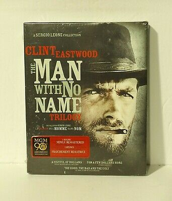 The Man with No Name Trilogy (Blu-ray Disc, 3-Disc, Canadian NEW Clint Eastwood