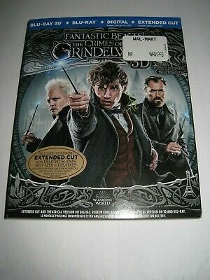 Fantastic Beasts: The Crimes of Gri (Blu Ray slip cover only) No Disc No Blu Ray