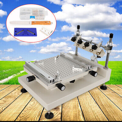 3040 Manual Solder Paste Printer PCB SMT Stencil Printing Platform Machine great