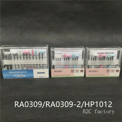 Dental Composite Polishing For Low-Speed Handpiece Contra Angle Kit RA0309
