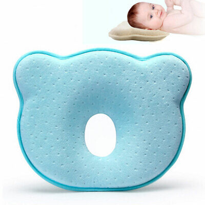 Newborn Baby Pillow Head Shaping Pillow Prevent Flat Head Memory Foam For O4Y3