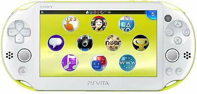 SONY PS Vita PCH-2000 ZA13 Lime Green Console Only Wi-Fi model JAPAN OFFICIAL