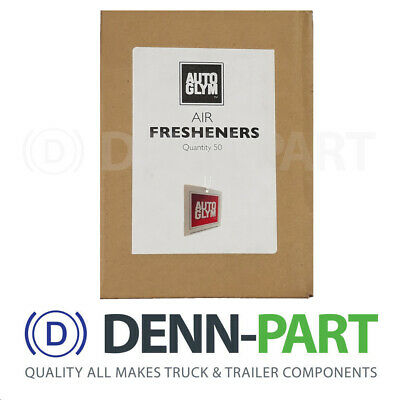 50x Autoglym Tag Car Air Fresheners Box (Pack of 50)