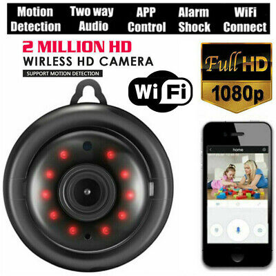 Mini Wireless WIFI IP Camera HD 1080P Smart Home Security Camera Night Vision US
