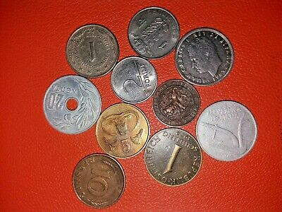 Lot Of World Mixed Vintage Coins Dating Since 1880!! Collection Attic Clearance