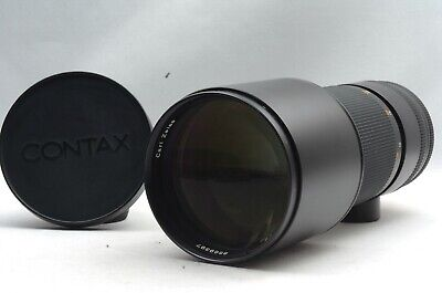 @ Ship in 24 Hours! @ Excellent! @ Carl Zeiss Tele-Tessar 300mm f4 Contax N Lens