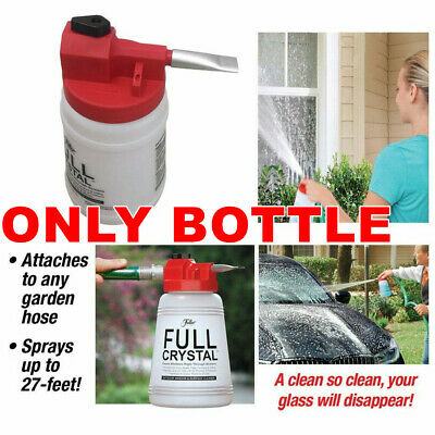 Fuller Brush Car Window Foam Spray Bottle Outdoor Glass Cleaning Kit With Nozzle