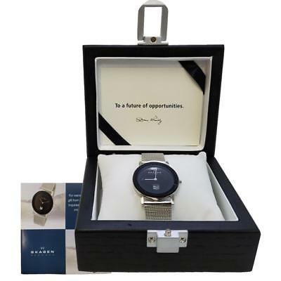 New Skagen - Luxury Ultra Slim Watch - 28MM Black Face + Display Box