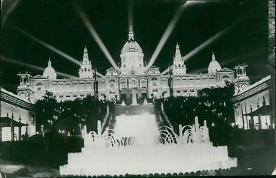 Madrid - The national Place - Vintage photo
