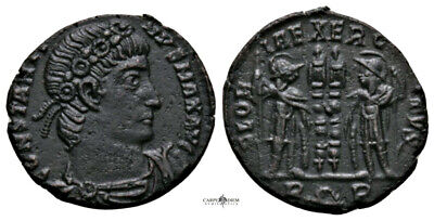 CONSTANTINE THE GREAT (330-335 AD) Rare Follis. Rome #RA 2344