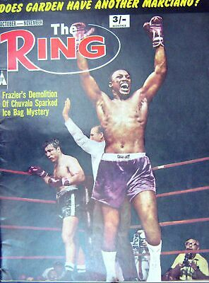 Old Vintage Print Boxing 1967 Frazier Chuvalo Holman Williams Moore Ali 20th