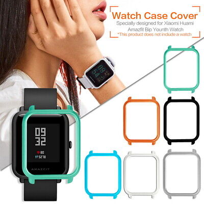 For Xiaomi Huami Amazfit Bip Youth Smart Watch Hard Bumper Protect Case Cover