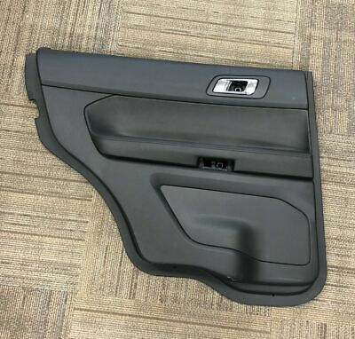 2011-2019 Ford Explorer XLT LH Driver Side Rear OEM Door Panel Interior Trim