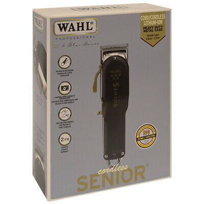 Wahl Professional 8504 5-star Series Senior Cord / Cordless Clipper